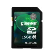 SD KINGSTON 16 GB Class 10