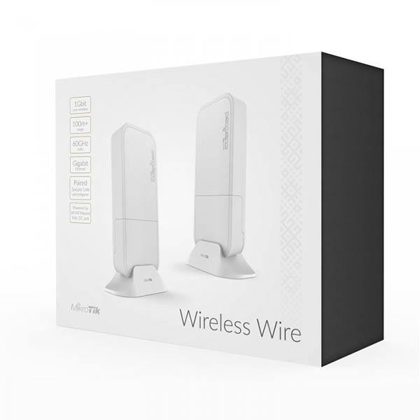 MikroTik Wireless Wire (RBwAPG-60ad kit)