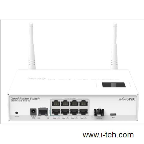 Mikrotik CRS109-8G-1S-2HnD-IN (CRS109-8G-1S-2HnD-IN) 2